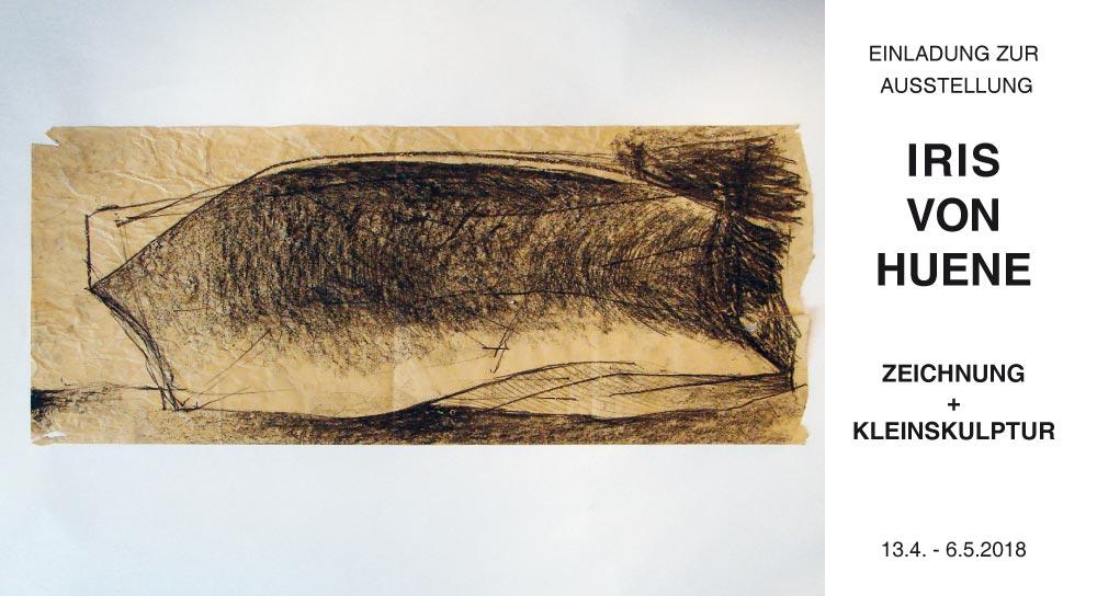 Einladung Zeichnung Iris von Huene